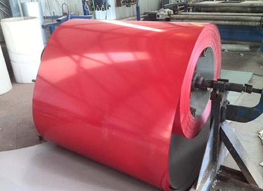 Color-coated rolls have good corrosion resistance and are widely used